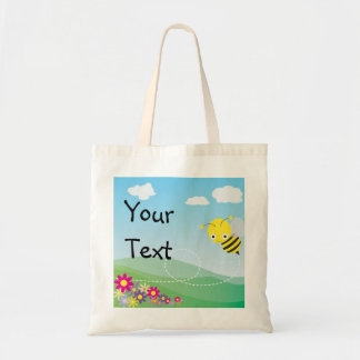 Bee Bag - Happy Birthday, Or Custom Message