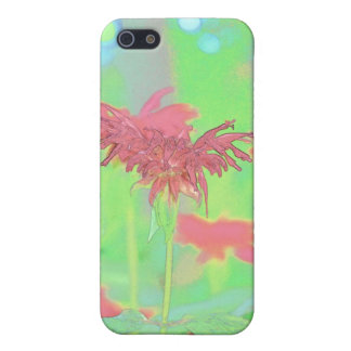 Bee Balm Blooms Case For The iPhone 5