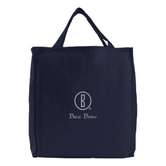 Bee Baw's Embroidered Tote Bags