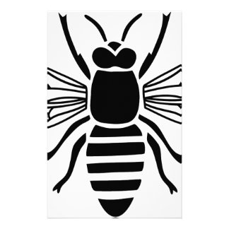 bee bee wasp bumble wasp hummel stationery