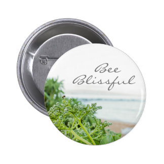 Bee Blissful Pin