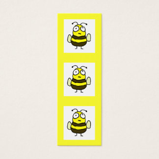 Bee Bookmark Mini Business Card