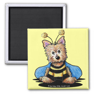 Bee Cairnful Magnet