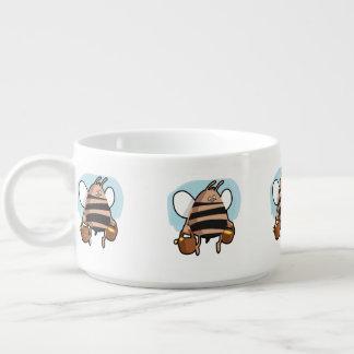 Bee cartoon bowl
