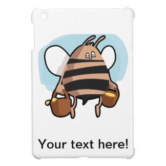 Bee cartoon iPad mini cover