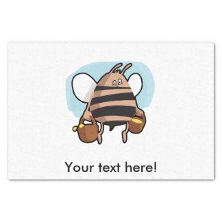 Bee cartoon tissue paper