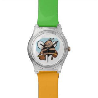 Bee cartoon watch