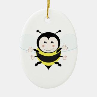 Bee Ceramic Ornament