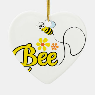 Bee Ceramic Ornament