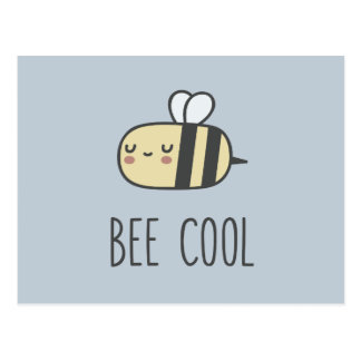 Bee Cool Postcard