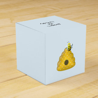 Bee Cool with Bee Hive Favor Box