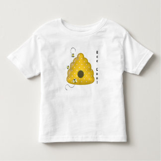 Bee Cool with Bee Hive Toddler T-shirt