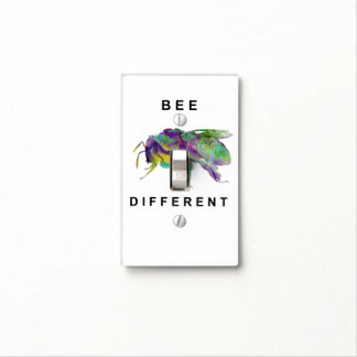 Bee Different Light Switch Cover