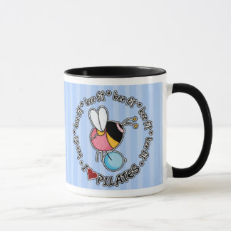 bee fit - pilates mug