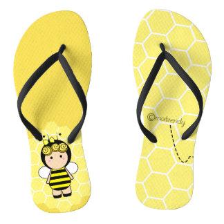 Bee Flip Flops
