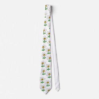 Bee Flower Power Tie
