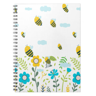 Bee Flying Note Books