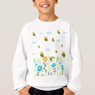 Bee Flying Sweatshirt