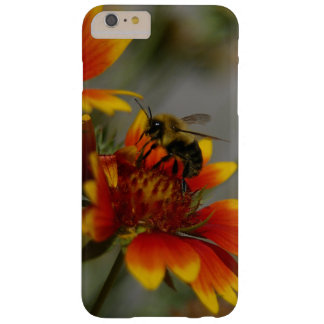 Bee foraging on a flower barely there iPhone 6 plus case
