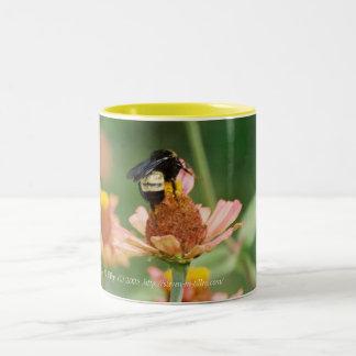 """Bee"" Good Two-Tone Coffee Mug"