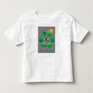 Bee Green - Cute Environmental Toddler T-shirt