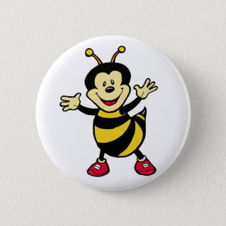 Bee Guy 2 Inch Round Button