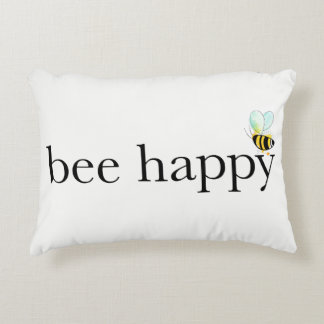 Bee Happy Accent Pillow