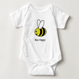 Bee Happy Baby Bodysuit