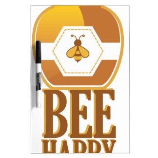 Bee Happy Dry Erase Board