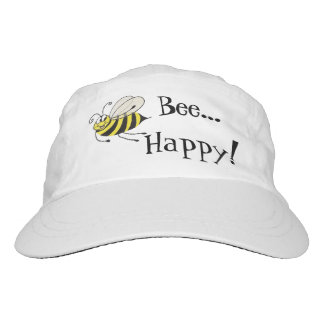 Bee Happy Funny Bee - Cap