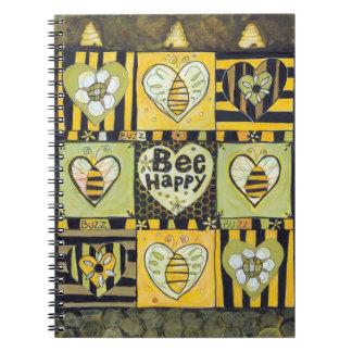 Bee Happy Journal Note Book