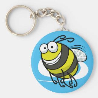 Bee Happy Keychain