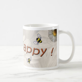 """Bee Happy"" Mug"