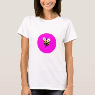 Bee Happy - Pink Bee Tshirt