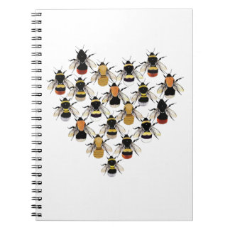 Bee Heart Note Book