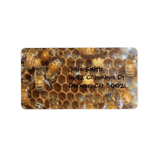 Bee Hive Label