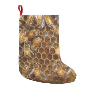 Bee Hive Small Christmas Stocking