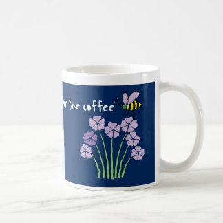 Bee Honeybee Bumblebee Flowers - Coffee Mug