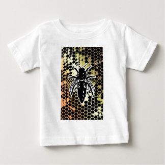 Bee Honeycomb Geometrical Baby T-Shirt