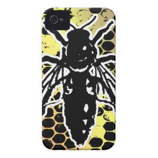 Bee Honeycomb Geometrical iPhone 4 Case