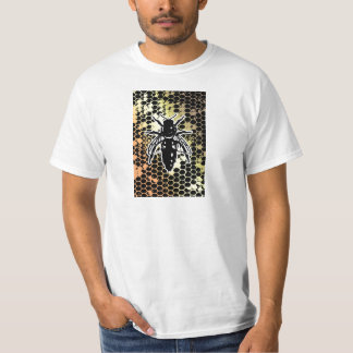 Bee Honeycomb Geometrical T-Shirt