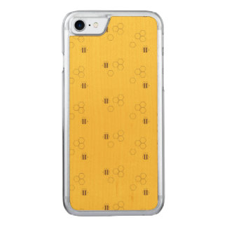 Bee Honeycomb Pattern Carved iPhone 8/7 Case