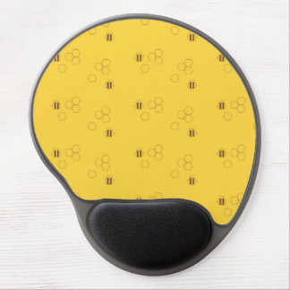 Bee Honeycomb Pattern Gel Mouse Pad