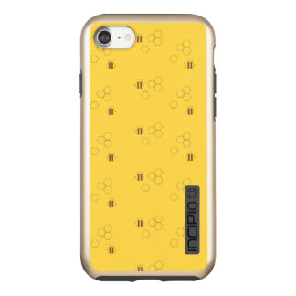Bee Honeycomb Pattern Incipio DualPro Shine iPhone 7 Case
