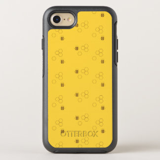 Bee Honeycomb Pattern OtterBox Symmetry iPhone 8/7 Case