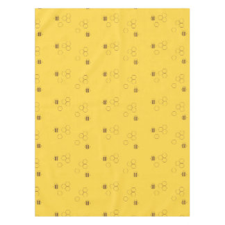 Bee Honeycomb Pattern Tablecloth