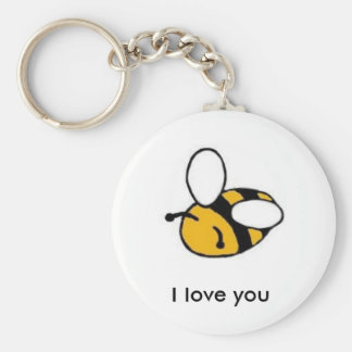bee i love you keychain