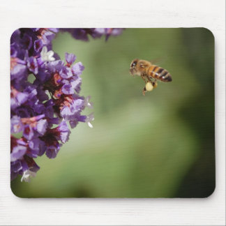 Bee in Flight Mousepad