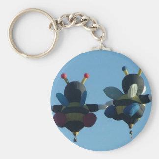 Bee in Love Keychain