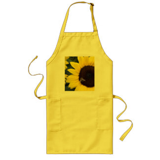 Bee in Sunflower Apron